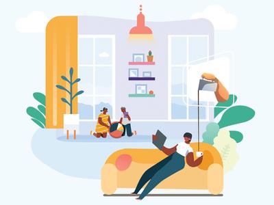 Customer experience Illustration