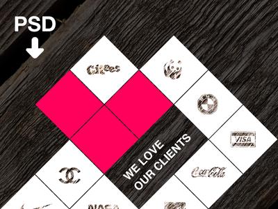 Grid With Love (Freebie)