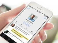 Fastr Books User Profile Redesign