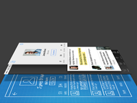 Fastr Books User Profile Design Process Layer View