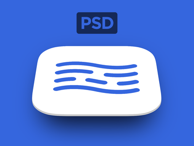 Free App Store Icon PSD Template from @inBudgetApp finance psd app icon android ios vector giveaway mockup android icon app store icon download freebie