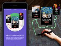 @inBudgetApp Social Budgeting Illustration