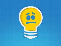 """Unnacepted Idea"" Icon"