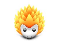 FireHedgehog for Mainual Logo