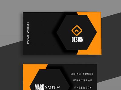 bunises card flat logo vector branding typography illustrator illustration graphic design design art