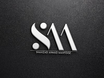 SAM  Shazad LOGO  mockup  design animation icon logo branding typography illustrator illustration graphic design design art