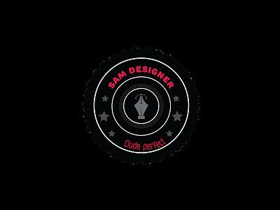 new SAM name design icon animation vector logo branding illustrator illustration graphic design design art