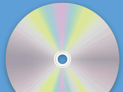 3d CD animate in illustrator using mesh tool ux ui vector icon branding illustrator illustration graphic design design art