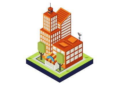 Isometric Buildings 3