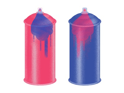 Spray Can can spray vector illustration crafts airbrush