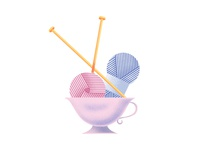 HKD Knitting Cup