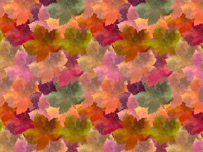 Scattered leaves fall autumn leaf leaves wallpaper pattern surface art seamless background digitalart design drawing art digital
