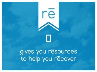 Re logo and tagline