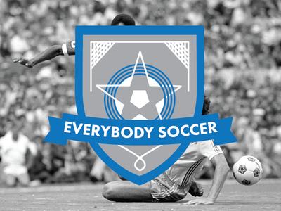 Everybody Soccer - Blue