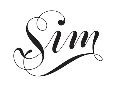 Sim lettering final lettering