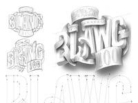 Blawg dribbble sketches vector