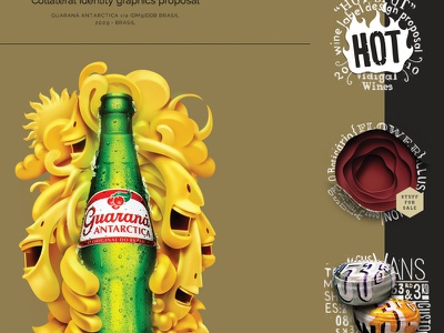 Restyled online portfolio website portfolio illustration lettering