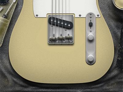 Guitar Illustration, WIP custom guitars guitar illustration photoshop aged damaged