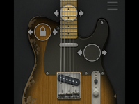Guitar app — edit mode