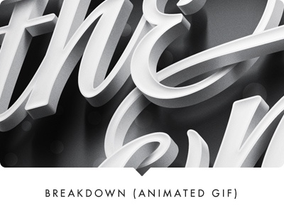 Promo for Sudtipos' font release: breakdown breakdown gif process lettering typography sudtipos poster animated gif