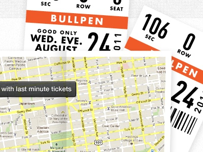 Map & Tickets