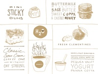 Creative Mornings Food Doodles