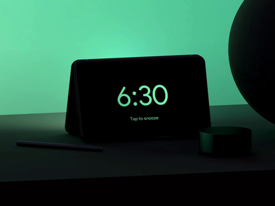 Alarm App — Dual screen phone. neo surface microsoft alarm clock alarm appdesign interfacedesign colors sunrise sun interface productdesign industrialdesign conceptdesign cinema4d