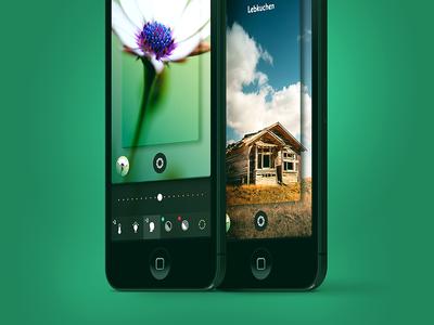 Full Lens - Camera App camera full lens iphone ios7 icon aperture apple ios ui gesture