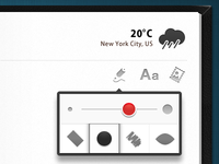 iPad App wip 2