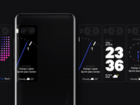Meizu Pro 7 Backscreen Sneak Peek