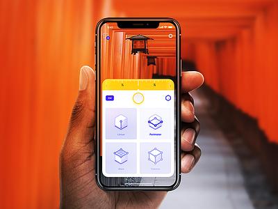 AR based iOS App - 2 reality augmented metric measure arkit app ar iphone
