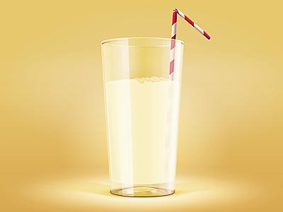 Dribbble glass 1