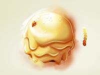 Ice Cream ball Wip