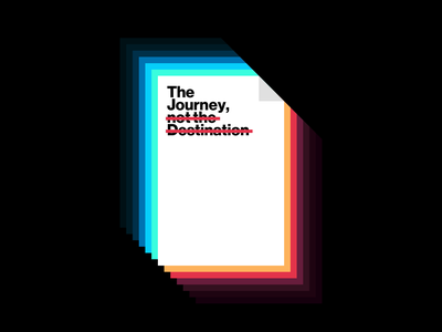 The Journey, not the Destination walkthrough learn tutorial design course instagram igtv