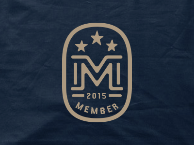 Main & Mill Brewing Co. // Member emblem & package main  mill brewing co. brewpub script rugged typography print identity brewery lettering member emblem mm