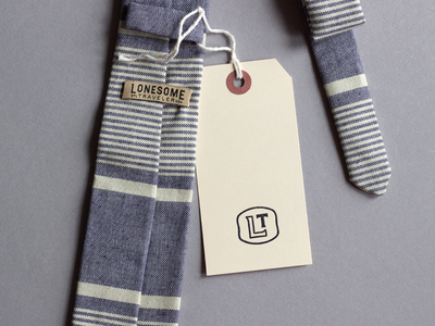 Lonesome Traveler -- simple fabric label fabric label lonesome traveler st. louis wearables identity print garment label fashion menswear tag made in the usa
