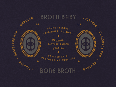 """Broth Baby San Francisco // """"All-Knowing"""" Brand Specimen killed scrapped apothocary vintage medicinal typography identity brand brand specimen"""