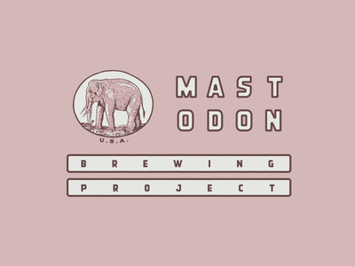= reinterpretation flag brewing project design logo icon type mastodon
