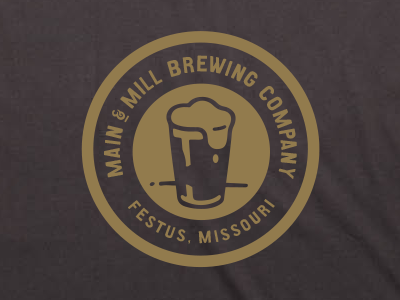 MMBC // lapel design for new tees  tshirt tee lapel brewery beer st. louis missouri festus mmbc
