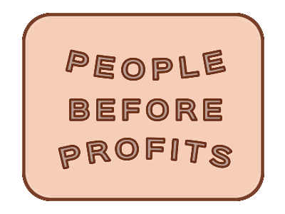 People Before Profits (possible pin)