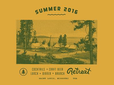 Camp Vibes st. louis stl retreat gastro throwback vintage campsite summer campy shirt retreat gastropub tshirt camp