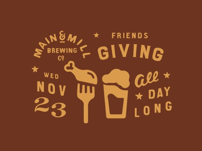 MMBC Friendsgiving  beer turkey friendsgiving thanksgiving missouri festus main and mill brewing co. main and mill main and mill brew mmbc