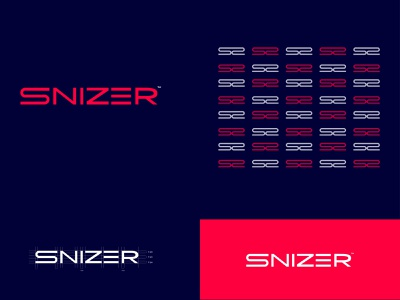 Snizer | game studio animation vector design branding typography minimal logotype logos logodesign logo