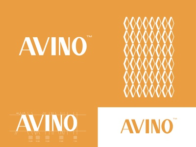 Avino cosmetic vector illustration design branding typography minimal logotype logos logodesign logo