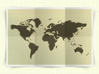 Psd Map Mockup Template