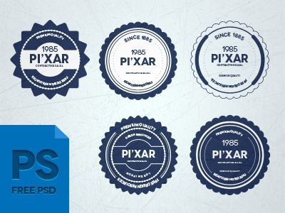 28 Psd Badges ( Free ) download psd badges ribbon flat blugraphic photoshop vector