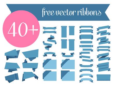 Ribbon Vectors free download vectors ribbons blugraphic psd illustrator ai eps freebie
