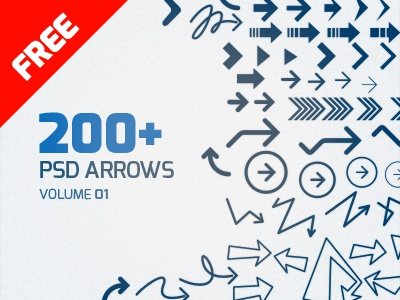 Psd Arrows