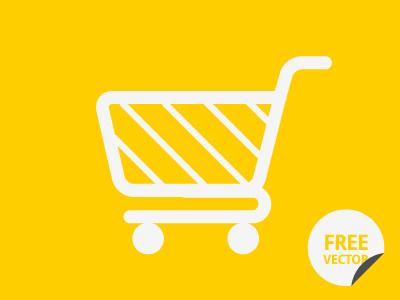 Vector Cart Icon cart download free shopping psd vector ai photoshop