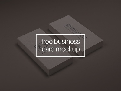 Business card mockup by wassim dribbble business card mockup2 download this free business card mockup reheart Gallery